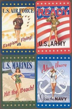 army pin-ups – http://thepinuppodcast.com  re-pinned this because we are trying to make the pinup community a little bit better.