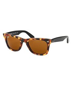 1a1ff6ee89b8 Tortoise & Havana Brown Cat-Eye Sunglasses Ray Ban Women, Wayfarer  Sunglasses, Cat