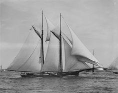 Schooner - A Two Masted Sailing Vessel of Dutch Origins Catamaran, Carnival Dancers, Sail Racing, Classic Yachts, Classic Sailing, Naval, Ile De Wight, Wooden Boats, Tall Ships