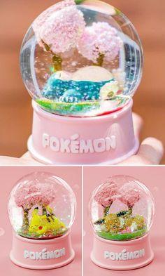 okemon can now be caught sleeping under a cherry blossom tree! #snowglobe #snowglobes #pokemon #pikachu #eevee #snorlax #anime #nintendo #animemerch #animemerchandise #pokemonmerch #pokemonmerchandise #cherryblossom #nintendomerch #nintendomerchandise #kawaii
