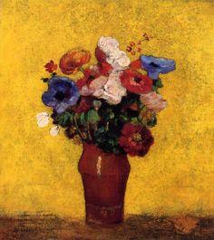 Odilon Redon - Flowers