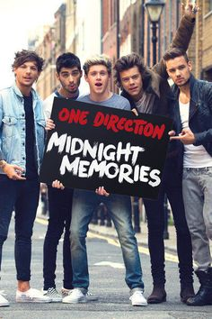 One Direction - One Direction Midnight Memories Poster I want this! I don't have any room on my walls!