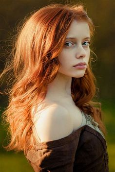My sisters are all redheads, so I have a weakness and affinity. They and all women are so lovely. MrBud
