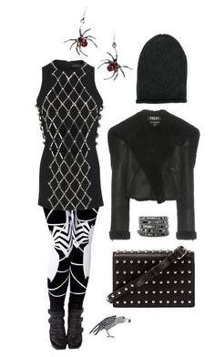 I spy a spider by perpetto on Polyvore featuring moda, David Koma, adidas Originals, Alexander Wang, Marc Jacobs and KristenseN du Nord