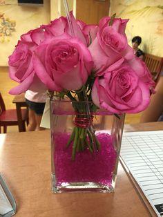 Such a simple but beautiful arrangement! Love it