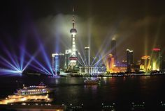 The Oriental Pearl TV tower - Shanghai