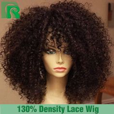 Cheap Full Lace Wigs With Baby Hair Brazilian Afro Kinky Curly Lacefront Wigs Natural 100 Human Hair Wigs For African Americans-in Human Wigs from Beauty & Health on Aliexpress.com | Alibaba Group