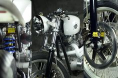 Loaded Gun Bonneville Cafe Racer featured on Cafe Racer TV series 3 ~ Return of the Cafe Racers