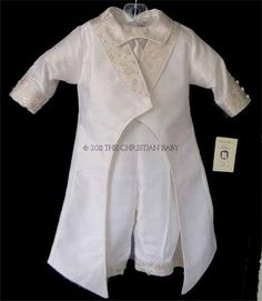 One of the Boys Christening Suits