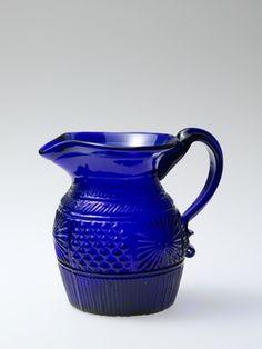 I LOVE cobalt glass.