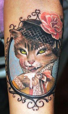 Tattoo Artist - Semyon Seredin - animal tattoo   www.worldtattoogallery.com