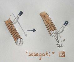 Sasagaki © Cuisineenbadouliere