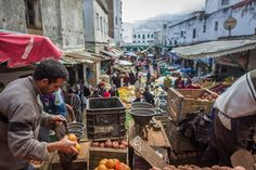 Market at Tetouan, Morocco