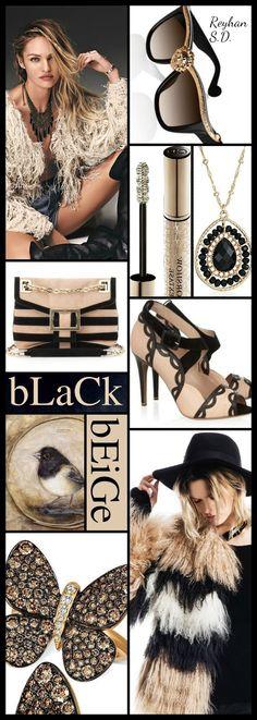 '' Black & Beige '' by Reyhan S.D.