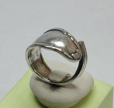 Nostalgischer Besteckring Ring glänzend 18,2 SR589 von Atelier Regina  auf DaWanda.com