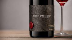 Westwood Winery (vin) | Design : Auston Design Group, Emeryville, États-Unis (janvier 2016)