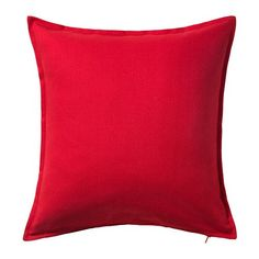 IKEA GURLI - Cushion cover, red - 50x50 cm Ikea http://www.amazon.co.uk/dp/B00RK554N6/ref=cm_sw_r_pi_dp_FFqWub02QDES8