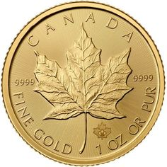 The Gold Maple Leaf is the first bullion coin to achieve the heightened standard of. The Royal Canadian Mint's Gold Maple Leaf is among the world's most popular pure gold coins since its introduction in Gold Bullion Bars, Bullion Coins, Silver Bullion, Buy Gold And Silver, Gold Rush, 1 Oz Gold Coin, Maple Leaf Gold, Wood