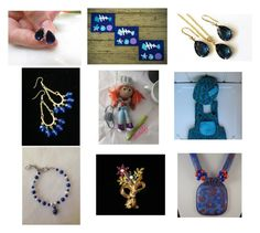 """""""just in Blue"""" by artistinjewelry ❤ liked on Polyvore featuring Gipsy and vintage"""