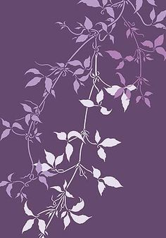 Made to Order Stencil Detailed montana clematis trailing leaf stencil 2 sheet large stencil This stencil is a made to order item only available as a Made to Order Stencil. To pre-order this stencil pay and order online as usual. We will then cut the stencil for you in our next stock cut and despa