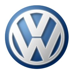 I created this Volkswagen Logo using a cool Photoshop tutorial.