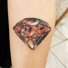 Small Diamond Tattoo Designs to Show Long-Lasting Value With Ink Large Tattoos, Up Tattoos, Body Art Tattoos, Sleeve Tattoos, Tattoos For Women, Cool Tattoos, Tatoos, Diamonds Tattoo, Small Diamond Tattoo