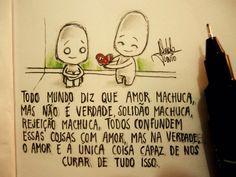 O amor é bom