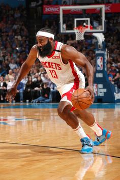 View photos for Photo Gallery: Rockets at OKC Mba Basketball, Basketball Players, Rose Nba, Nba Lebron James, Nba Wallpapers, Nba Season, James Harden, Larry Bird, Detroit Pistons