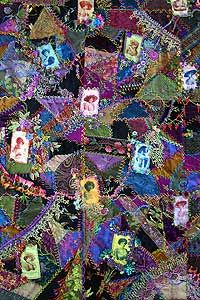 basics of crazy quilting Judith Baker Montano all day Tuesday $127 class #229