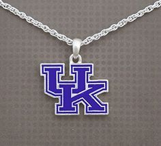 Silver Tone Necklace with Kentucky Enamel UK Charm J and D Jewelry and More http://www.amazon.com/dp/B00SVU3OW2/ref=cm_sw_r_pi_dp_pD3wwb0RT35HG