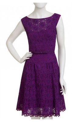 Balloon dress from Nanette Lepore Casual Clothes, Casual Outfits, Balloon Dress, Eyelet Dress, Absolutely Fabulous, Nanette Lepore, Wedding Attire, Fashion Styles, Summertime