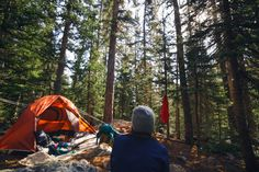 """seekoutadventures: """" """"He is richest who is content with the least, for content is the wealth of nature.""""-Socrates Our backcountry campsite at Fern Lake, Rocky Mountain National Park. """""""
