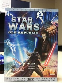 """This """"movie"""" of a Star Wars game. 