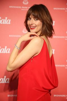 Stars feiern in Baden-Baden: Model Eva Padberg strahlte in die Kameras