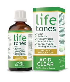 Lifetones Acid Clear - Gout Remedy