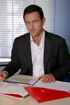 Hugues Cazenave Président fondateur d'OpinionWay Suit Jacket, Character, Man Women, Lettering, Suit Jackets