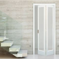 Direct Doors supply a wide range of high quality Internal Bi folding Doors & Internal BiFold Doors with Glass at affordable prices, ideal for fitting where space is at a premium. Laundry Room Doors, Bathroom Doors, Closet Doors, Bathroom Interior, Kitchen Doors, Frosted Glass Door, Barn Style Doors, Glass French Doors, Glass Doors