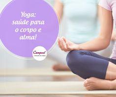 A yoga é uma ótima opção para quem está buscando, além do exercício físico, uma forma de aliviar o stress e trabalhar a saúde mental. Você já fez yoga? #dicaCampesí