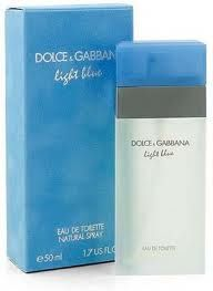 Light blue by Dolce e Gabbana
