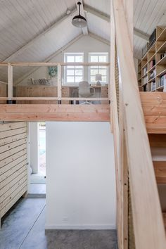Small-Space Living: An Inspired Garage Conversion that Prioritizes Smart Storage How did architect Christopher Cahill managed to pack so much into writer Christine Lennon's converted garage?