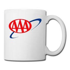 White American Automobile Association Sab04Fl Diner Mugs Unisex Printed On Both Sides -- Check this awesome image  : Cat mug