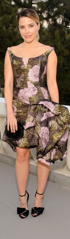 Sophia Bush in Vivienne Westwood Fall 2015 – Glamour's June Success Issue Dinner Party