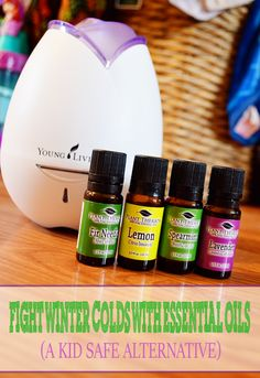 A Modern Day Fairy Tale: Fight Winter Colds With Essential Oils {A Kid Safe Alternative}  #essentialoils #naturalliving