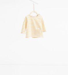 Image 1 of Striped sweatshirt from Zara