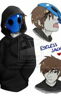 8 Best Eyeless Jack images | Eyeless jack, Jack creepypasta