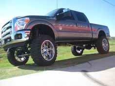 lifted truck ..I love this Ford truck!!!