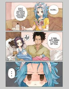 Gajeel Redfox x Levy McGarden / Fairy Tail Fairy Tail Levy, Fairy Tail Ships, Fairy Tail Manga, Gajevy, Gruvia, Anime Fairy, Gajeel Und Levy, Got Anime, Fairy Tail Images