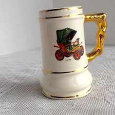 Henry Ford Museum Souvenir Stein by vintagepoetic on Etsy