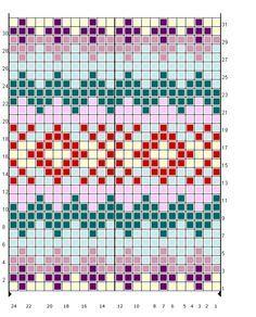 desenhos para tricotar fair isle - Pesquisa Google