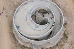Ruta Peregrino Mexico - Lookout Point  by HHF Architects Location: Espinazo del Diablo